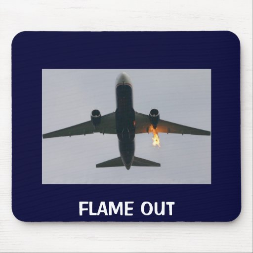 FLAME OUT MOUSEPADS