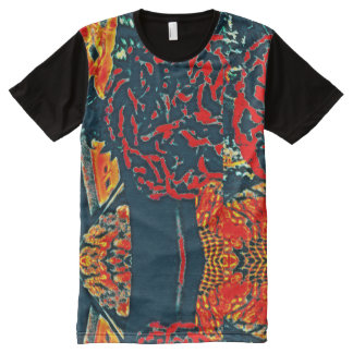 Flame Panel T-shirt