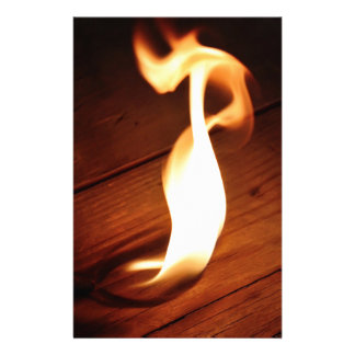 Flame. Personalized Stationery