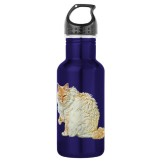 Flame point siamese cat 2 532 ml water bottle
