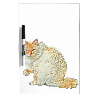 Flame point siamese cat 2 dry erase board