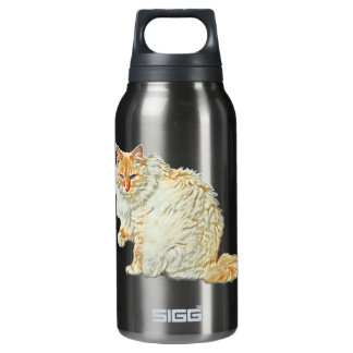 Flame point siamese cat 2 insulated water bottle