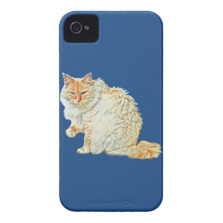 Flame point siamese cat 2 iPhone 4 case