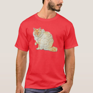 Flame point siamese cat 2 T-Shirt