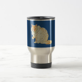 Flame point siamese cat 2 travel mug
