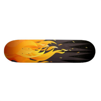 flame skate decks