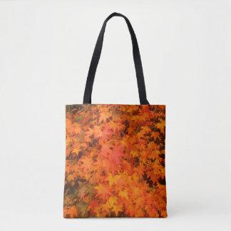 Flame tree tote bag