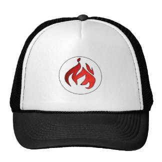 Flame Tuft of Fire from Hot Water Music Hats
