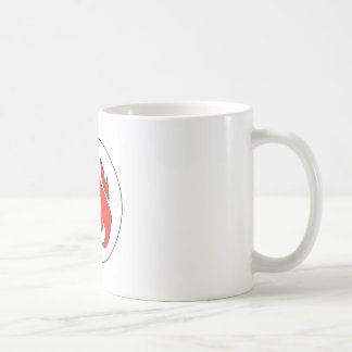 Flame Tuft of Fire from Hot Water Music Coffee Mug