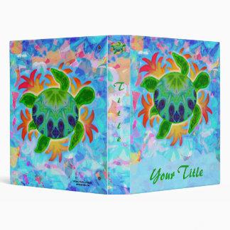 Flame Turtle Customizable Art Binder