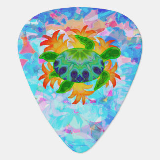 Flame Turtle Guitar Pick