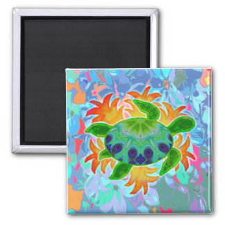 Flame Turtle Magnet