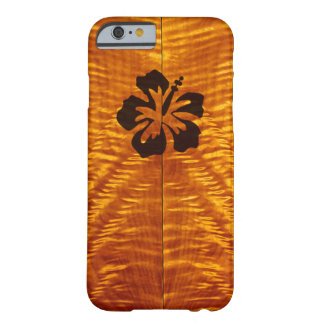 Flamed Maple with Hisbiscus Barely There iPhone 6 Case