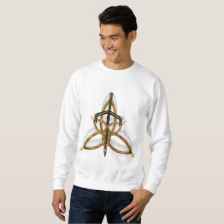 Flamed Triquetra Men's Sweatshirt