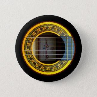 Flamenco bt by rafi talby 2 inch round button