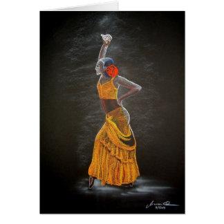 """""""Flamenco"""" Card"""