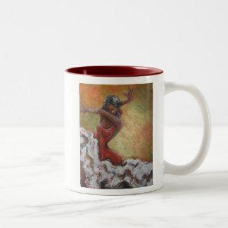 Flamenco Dancer Art Mug