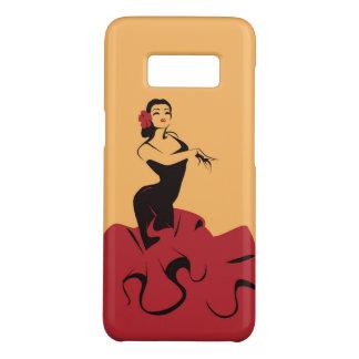 flamenco dancer in a spectacular pose Case-Mate samsung galaxy s8 case