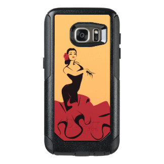 flamenco dancer in a spectacular pose OtterBox samsung galaxy s7 case