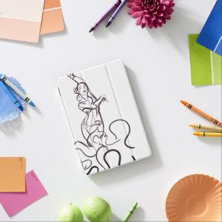 Flamenco dancer sketches iPad mini cover