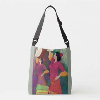 Flamenco Dancers - Siempre Flamenco Miami Crossbody Bag