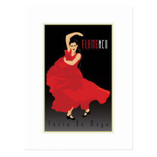 Flamenco Postcard
