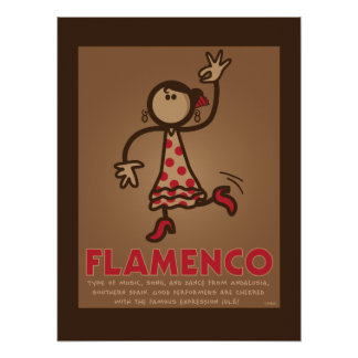 FLAMENCO poster (English version)