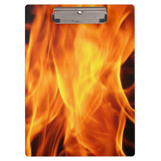 Flames Clipboard