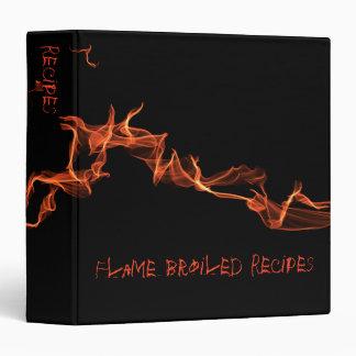 Flames Custom Recipe Binder