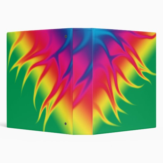 FLAMES in Multi Colour Binder