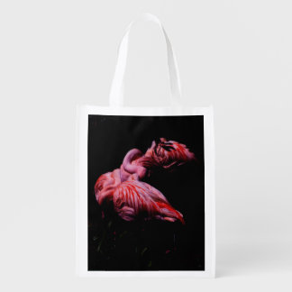 Flames in the Darkness Reusable Grocery Bag