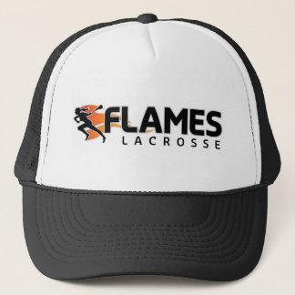 Flames Lacrosse Trucker Trucker Hat