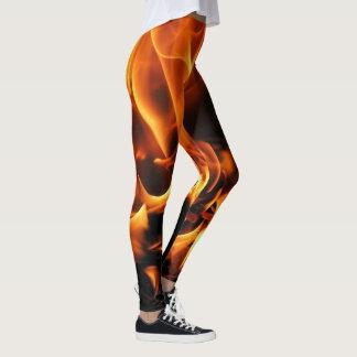 flames leggings