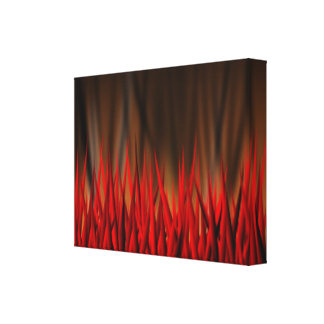 FLAMES OF FIRE GALLERY WRAPPED CANVAS