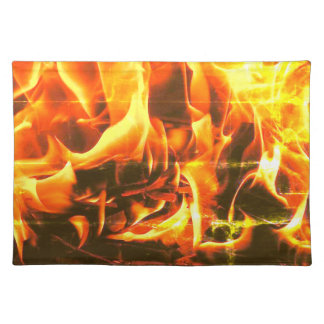 flames placemat