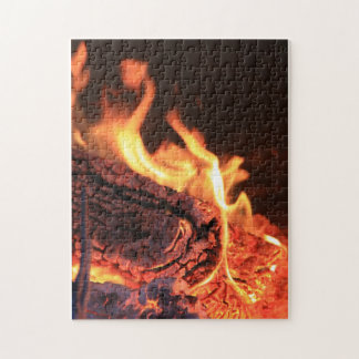 Flames Puzzle/Jigsaw Jigsaw Puzzle