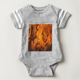 Flames - Too Hot to Handle Baby Bodysuit