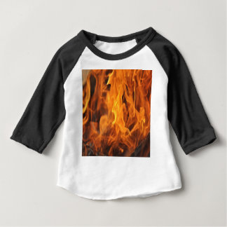 Flames - Too Hot to Handle Baby T-Shirt