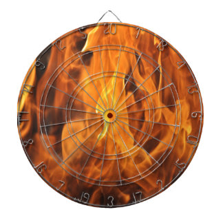 Flames - Too Hot to Handle Dartboard