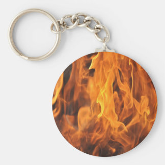 Flames - Too Hot to Handle Keychain