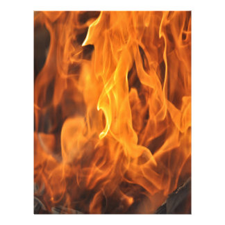 Flames - Too Hot to Handle Letterhead
