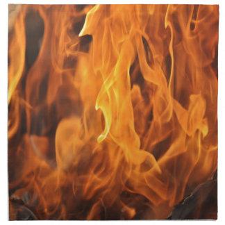 Flames - Too Hot to Handle Napkin