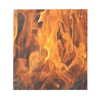 Flames - Too Hot to Handle Notepad