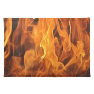 Flames - Too Hot to Handle Placemat