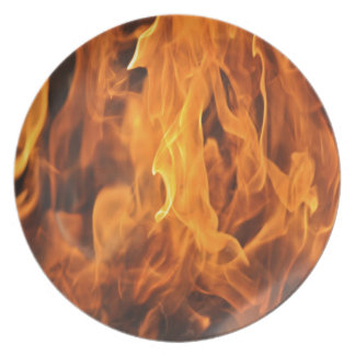 Flames - Too Hot to Handle Plate