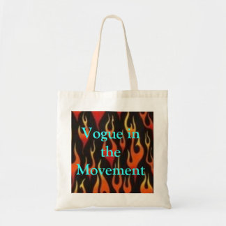 flames, Vogue in the Movement Tote Bag
