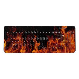 Flames Wireless Keyboard