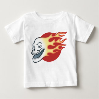 Flameskull -Retro Baby T-Shirt