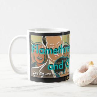 """Flamethrower Mommy and Ghost Dad"" Coffee Mug"