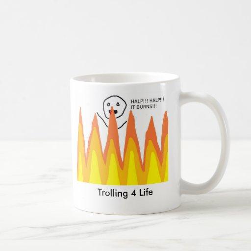 flamewars, Trolling 4 Life Coffee Mugs